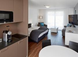 Aparthotel Baden, отель в Бадене