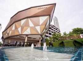 Rodina Jomtien Beach Pattaya Hotel, hotel near Pattaya Floating Market, Jomtien Beach