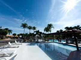 Condomínio diRoma Resorts Internacional Flats, holiday home in Caldas Novas