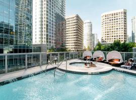 Shangri-La Vancouver, hotel near Olympic Village Skytrain Station, Vancouver