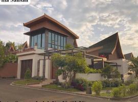 Villa Sansan Vimala Hills, villa in Bogor