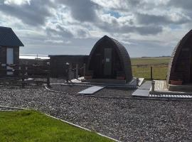 Hillside Camping Pods and Shepherd's Hut, campeggio a Wick