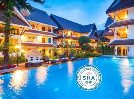 Nak Nakara Hotel, hotel en Chiang Rai