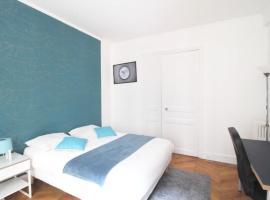 Bel appartement dans le 16ème - 16RVA, quarto em acomodação popular em Paris