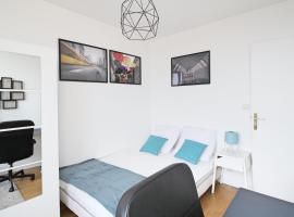 Appartement avec vue imprenable - 176BCHA, quarto em acomodação popular em Paris