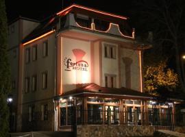 Fortuna Hotel, hotel Miskolctapolcán