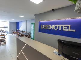 USEHOTEL - A uma quadra do complexo hospitalar Santa Casa - Estacionamento gratuito, apartamento em Porto Alegre