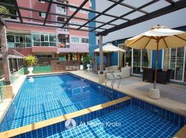 Ao Nang Mountain View Pool Villa, overnatningssted i Ao Nang Beach