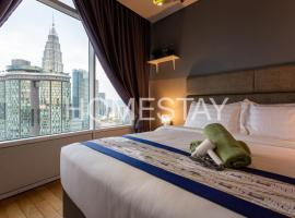 Vortex KLCC Suites by Homestay, hotel in Kuala Lumpur