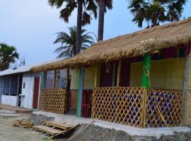 Nongor Beach Camp, luxury tent in Nāmkhāna