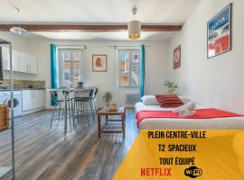 Le Grand Lovely CityCenter - Wifi-Netflix-Baignoire - by AndersLocation, budget hotel in Marseille