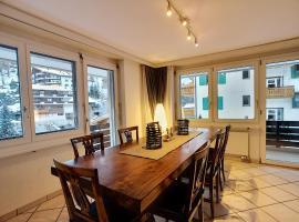 L'Attila - Big and cozy flat in the Center 7 beds, apartment in Zermatt