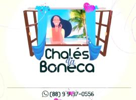 Chalés da Boneca, hotel with pools in Icapuí