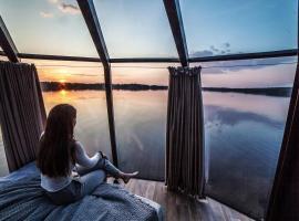 Peace & Quiet Hotel, hotel in Jokkmokk