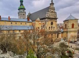 The heart of Lviv, hotel near The Bandinelli Palace, Lviv