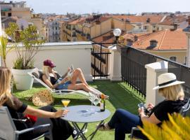 Hôtel Byakko Nice, hotel in Nice