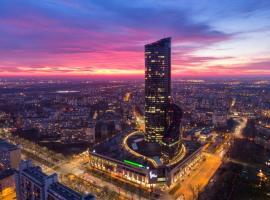 In The Sky - Apartamenty w Sky Tower, budget hotel in Wrocław