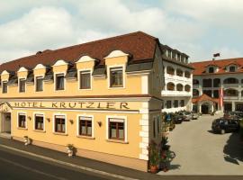 Hotel Krutzler, hotel Szentkúton