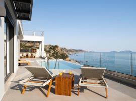 Rozites Luxury Beachfront Villa, hotel in Kerames