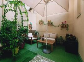 Nice appartement cosy + patio privé, apartment in Nice