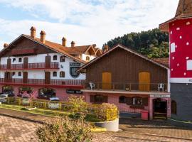 Áustria Hotel de Monte Verde, hotel em Monte Verde