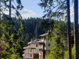 Green Life Family Apartments Pamporovo, serviced apartment in Pamporovo