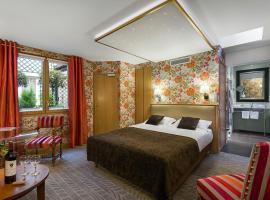 Hôtel Saint-Paul Rive-Gauche, hotel near Notre Dame Cathedral, Paris