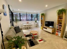 Luxury Apartment near Sydney Olympic Park with Home Feelings, Pool, Spa, Sauna and Gym, hotel with jacuzzis in Sydney