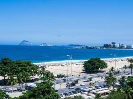 Smart Copa - Vista do Mar, bom gosto e exclusividade!, apartamento no Rio de Janeiro