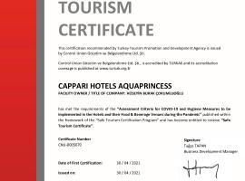 Aqua Princess Hotel, отель в Каше