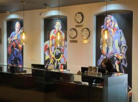 Jazz Hotel Navalis, Tubinas Hotels, отель в Клайпеде