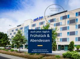 Park Inn by Radisson Frankfurt Airport, hotel i Frankfurt am Main