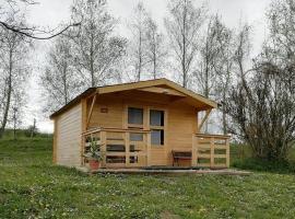 Hütte mit Teich, apartment in Klöch