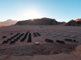 Sun City Camp, luxury tent in Wadi Rum