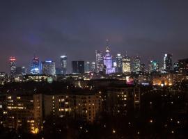 WarsawSkyLine Apartments - PGE Narodowy, Torwar, Bulwary Wiślane – hotel w Warszawie