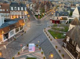 Coeur Deauville Grand 3 pièces avec Parking, apartment in Deauville
