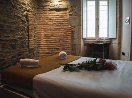 Pensión A Casa do Peregrino, hotel en Santiago de Compostela