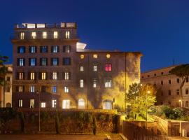 Rhinoceros, apartment in Rome