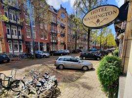 Hotel Washington, hotel near Diamond Museum Amsterdam, Amsterdam