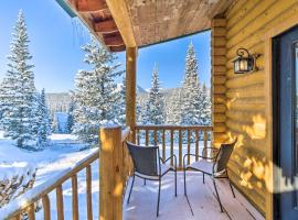 Fairplay Cabin with Mtn Views 25 Mi to Breck!, hotel with parking in Fairplay