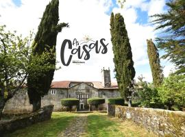 As Casas Ribeira Sacra, hotel en Chantada