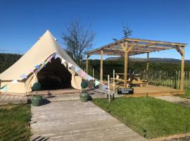 Carrowmena Family Glamping Site, glamping a Limavady