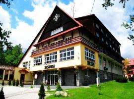 Hotel Sasanka, hotel in Tatranská Lomnica