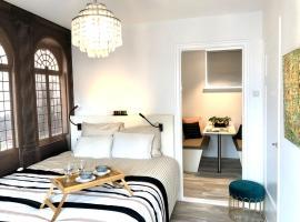 Zonnige frisse studio De Gouden Parel in hartje Middelburg, apartment in Middelburg