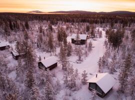 Polar Lights Lodge – obiekty na wynajem sezonowy w mieście Sirkka