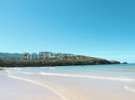 Fistral Beach Hotel and Spa - Adults Only, hotel in Newquay