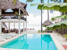 Maisha Matamu Beach Hotel Paje, hotel in Paje