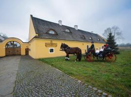 Dvůr Olšiny -Hotel and Horse-riding – hotel w pobliżu miejsca Wyciąg narciarski Malinka w Karwinie