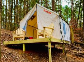 Tentrr State Park Site - Lake Claiborne State Park Site H, luxury tent in Homer
