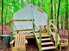 Tentrr State Park Site - Lake Claiborne State Park Site A, luxury tent in Homer